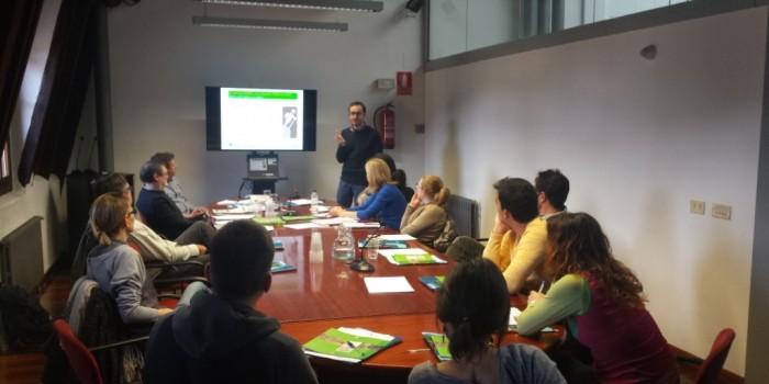 Continuen les sessions de treball entre l'IDAPA i els agents del territori pirinenc