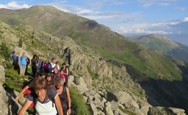 Els festivals de senderisme dels Pirineus comencen amb bon peu