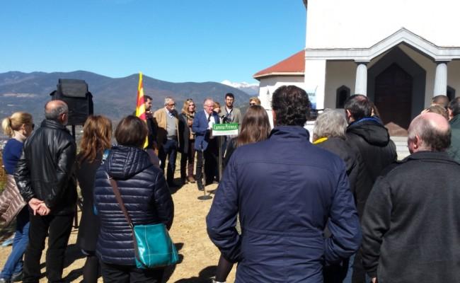 """Presentat el projecte FEDER """"Camina Pirineus"""""""