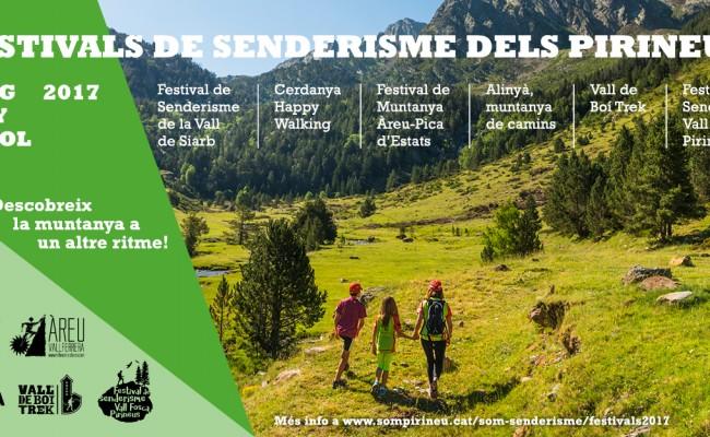 Comencen els festivals de senderisme dels Pirineus