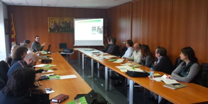 La Taula de Camins de la Cerdanya presenta el seu pla de treball a l'IDAPA