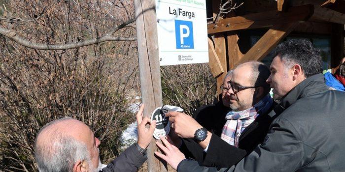 Més seguretat a la muntanya: comença la instal·lació dels nous senyals 112
