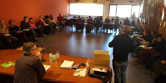 La Taula de Camins i l'IDAPA impulsaran la professió de guies i la col·laboració amb el Departament de Salut