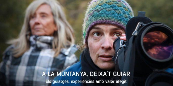 """La campanya """"A la muntanya, deixa't guiar"""" vol impulsar els guies professionals de l'Alt Pirineu i Aran"""