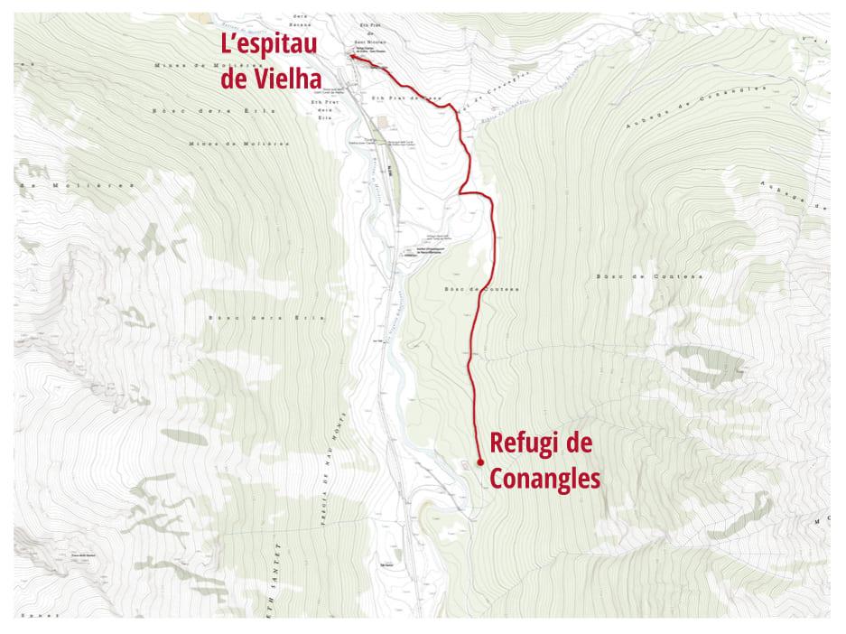 Mapa Conangles